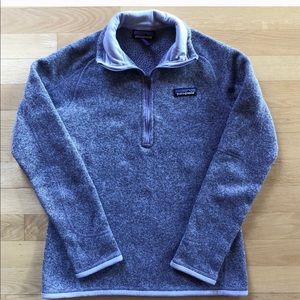 Patagonia sweater 1/4 zip